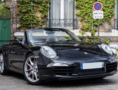 Porsche 911 Carrera S Cabriolet - 991 à Paris (14ème arr.)