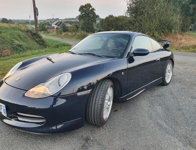Porsche 911 996 à Gévezé (Ille-et-Vilaine)