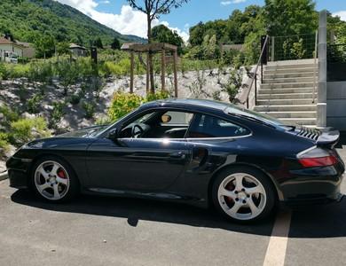 Porsche 911 996 Turbo à La Pierre (Isère)