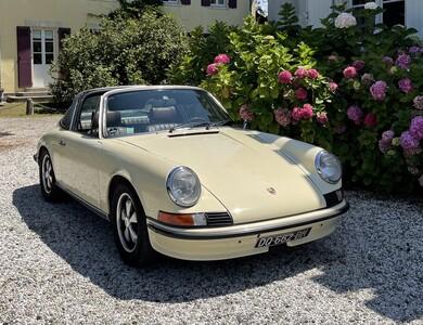 Porsche 911 Targa à Mont-de-Marsan (Landes)