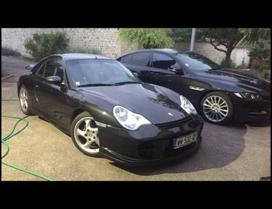 Porsche 911 Type 996 Cabriolet à Vernouillet (Yvelines)