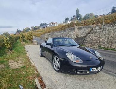 Porsche 911 Type 996 à Prévessin-Moëns (Ain)