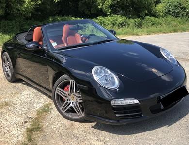 Porsche 911 Type 997 Carrera S Cabriolet à Toulenne (Gironde)