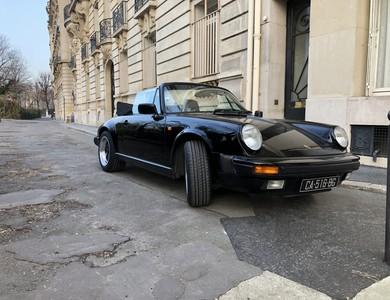 Porsche 911 Type G Cabriolet à Paris (8ème arr.)