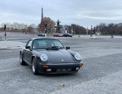 Porsche 911 Type G à Paris (10ème arr.)