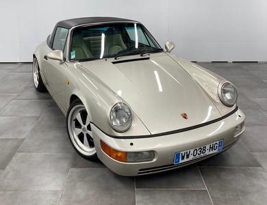 Porsche 964 Targa à Cannes (Alpes-Maritimes)