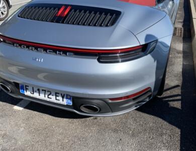 Porsche 992 à Mandelieu-la-Napoule (Alpes-Maritimes)