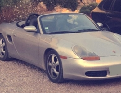 Porsche Boxster 986 à Béziers (Hérault)