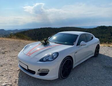 Porsche Panamera à Graveson (Bouches-du-Rhône)