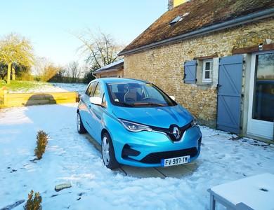 Renault Zoé à Courgains (Sarthe)