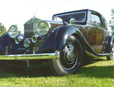 Rolls Royce 25/30 Coupé Chauffeur à Vernouillet (Yvelines)