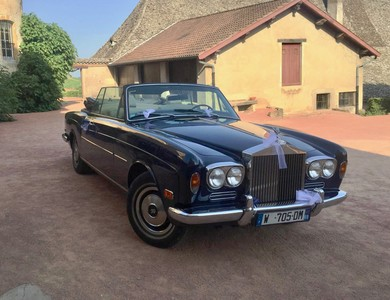 Rolls Royce Corniche Cabriolet à Vaulx-en-Velin (Rhône)
