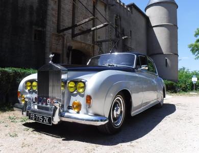 Rolls Royce Silver Cloud à Saint-Symphorien-d'Ancelles (Saône-et-Loire)