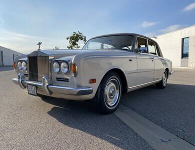 Rolls Royce Silver Shadow à Mougins (Alpes-Maritimes)