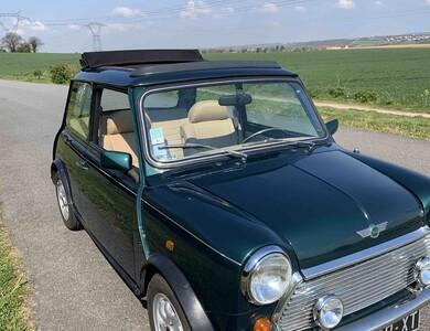 Rover Mini à Neauphle-le-Château (Yvelines)