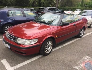 Saab 9.3 Se Décapotable Rouge à Antibes (Alpes-Maritimes)