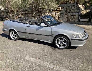 Saab 9.3 Turbo Se Décapotable Argent 2 à Antibes (Alpes-Maritimes)