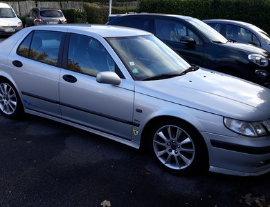 Saab 9.5 à Élancourt (Yvelines)