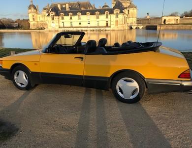Saab 900 Cabriolet Monte Carlo à Lamorlaye (Oise)