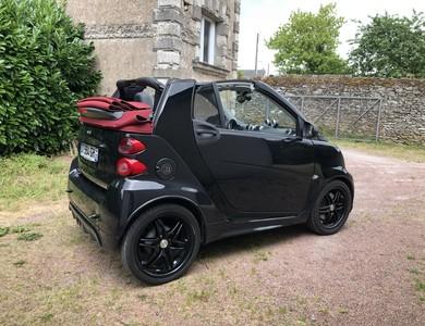 Smart Brabus Cabriolet Electric Drive à Beaulieu-sur-Layon (Maine-et-Loire)
