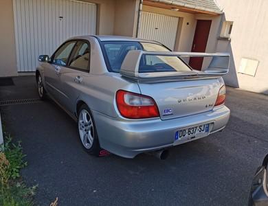 Subaru Wrx à Reugny (Indre-et-Loire)
