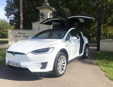 Tesla Model X 90d à Méré (Yvelines)