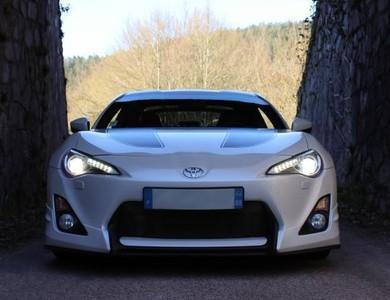 Toyota Gt86 à Remiremont (Vosges)