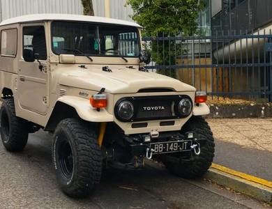 Toyota Land Cruiser (bj 40) à Nancy (Meurthe-et-Moselle)