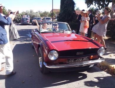Triumph Tr6 à Robion (Vaucluse)