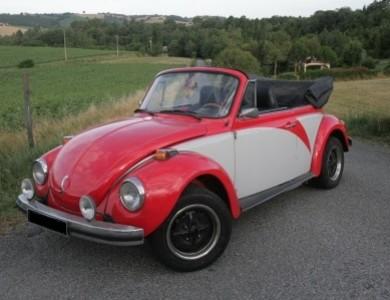 Volkswagen (vw) Coccinelle 1303 Cabriolet à Lacroix-Falgarde (Haute-Garonne)