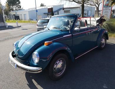 Volkswagen (vw) Coccinelle Cabriolet à La Baule-Escoublac (Loire-Atlantique)