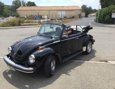 Volkswagen (vw) Coccinelle Cabriolet à Paradou (Bouches-du-Rhône)