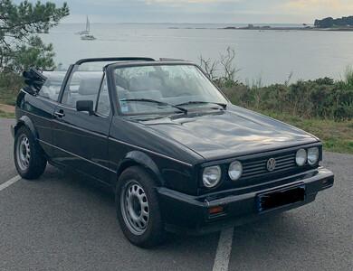 Volkswagen (vw) Golf 1 Cabriolet à Pluneret (Morbihan)